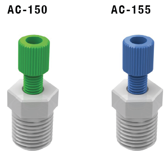Hardwall Tubing Adapters AC-150 AC-155