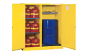 Double-Duty Safety Cabinet