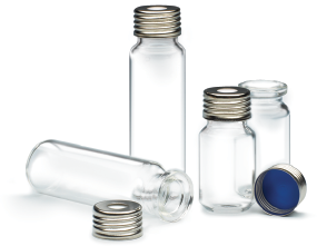 18 mm Glass Screw Thread Vials for CombiPal Headspace