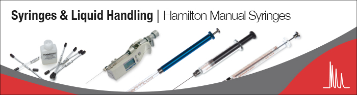 Hamilton Manual Syringes