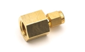"Picture of 0100-0118 - 1/8"" x 1/4"" brass tubing connector"