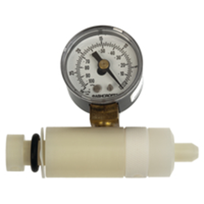 Vacuum Valve and Gauge Assembly