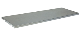 SpillSlope Steel Shelf