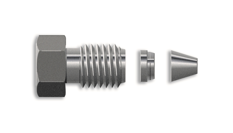 5062 2418 1 16 Quot Fittings And Ferrules 10 Pk Chrom Tech