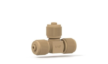 MicroTee with fittings