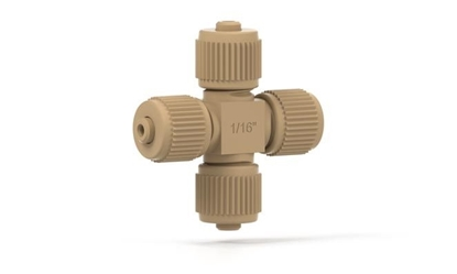 MicroCross with fittings