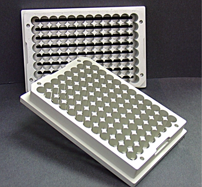 Picture of 96AL-14 - Vented Alum., 96 Well-Plate Base