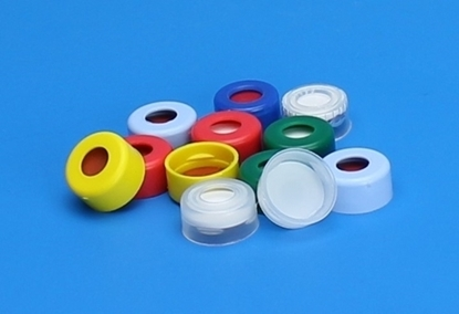 Picture of CTC-5201M - 11 mm Clear Snap Top Cap, 10 mil PE w/starburst, 1000/pk